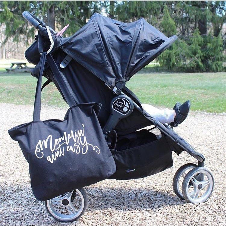 Mommin Ain't Easy - Tote-Little Hooligans Co.