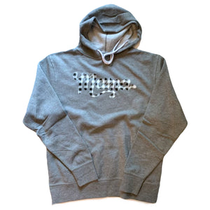 Plaid Mama - Unisex Grey Hoodie - Little Hooligans Co.