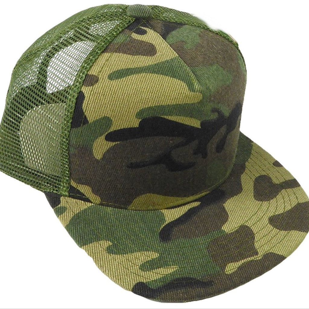 Camo Meshback Snapback - Kids - Little Hooligans Co.