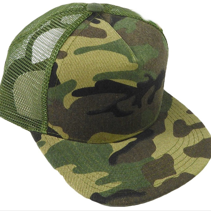 Camo Meshback Snapback - Kids-Little Hooligans Co.