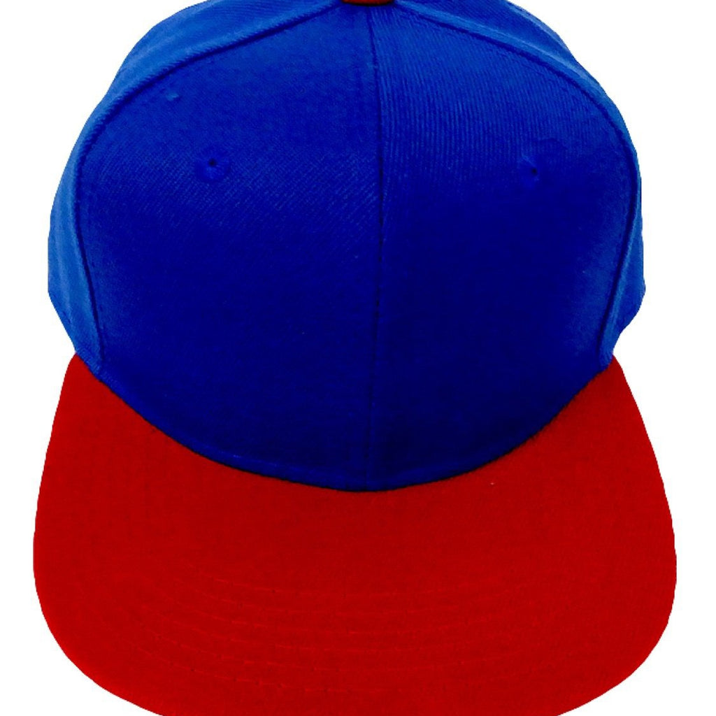 Red + Royal - Snapback-Little Hooligans Co.