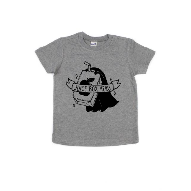 Juice Box Hero - Kids Tee-Little Hooligans Co.