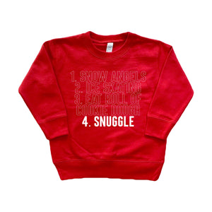 Christmas To-Do List - Kids Pullover-Little Hooligans Co.