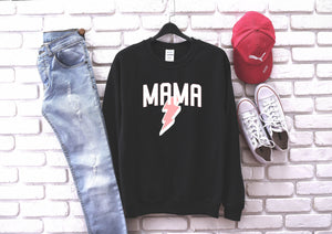 Mama (Bolt) - Pullover/Hoodie-Little Hooligans Co.