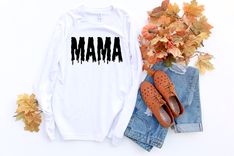 Mama {Slime} - Unisex Long Sleeve-Little Hooligans Co.