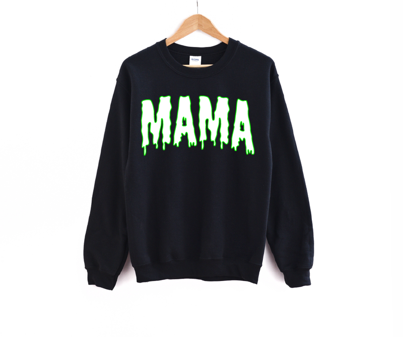 Mama (Slime) - Unisex Fleece Pullover-Little Hooligans Co.