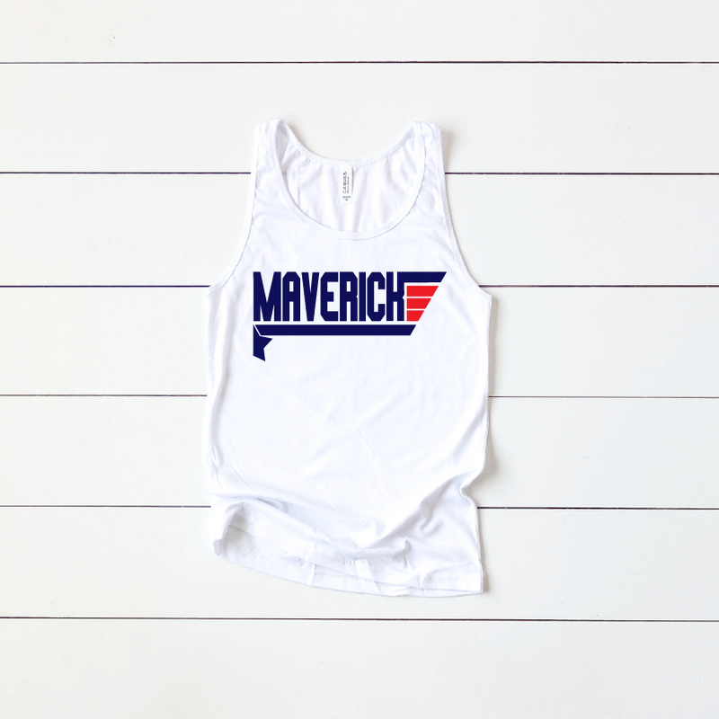Maverick Wing Man - Unisex Tank-Little Hooligans Co.