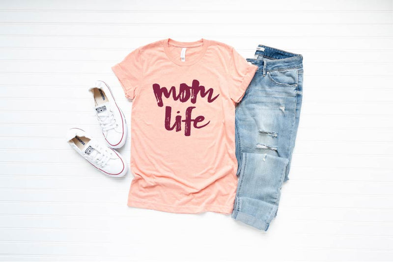 Mom Life - Unisex Crew Neck-Little Hooligans Co.