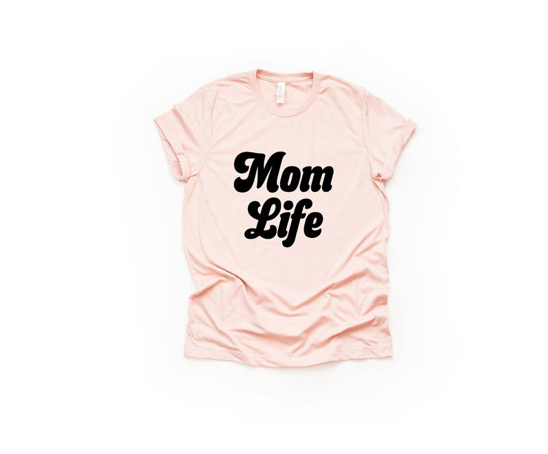 Mom Life (Retro) - Unisex Crew Neck-Little Hooligans Co.