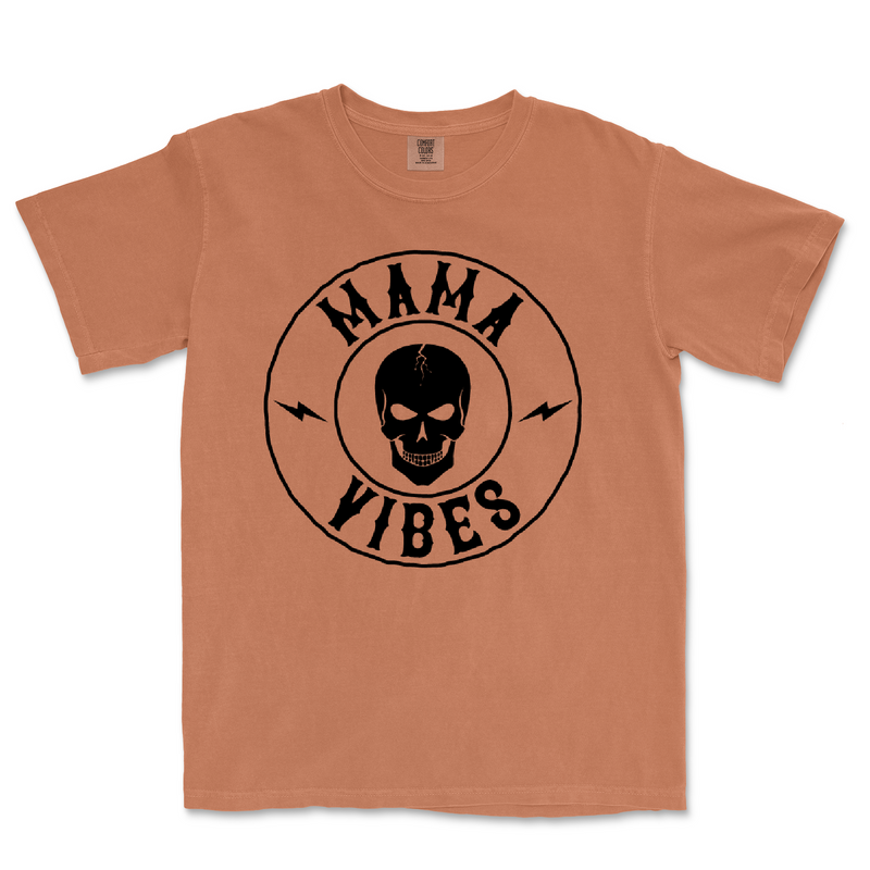 Mama Vibes - Unisex Yam Comfort Colors Tee-Little Hooligans Co.