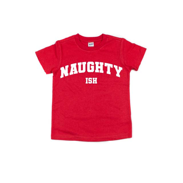 Naughty (ish) - Kids Tee-Little Hooligans Co.