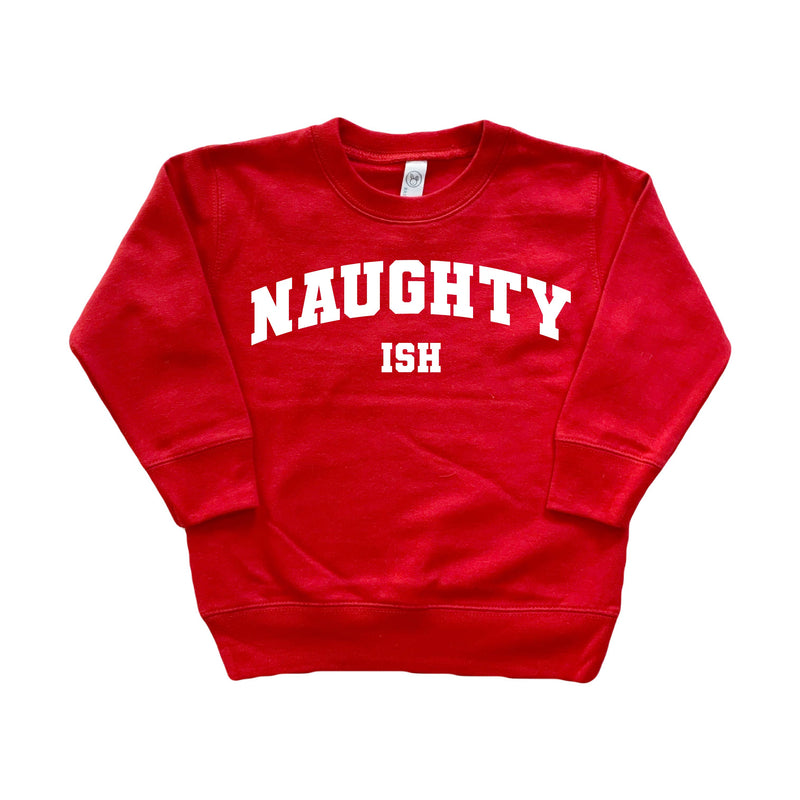 Naughty (ish) - Kids Pullover-Little Hooligans Co.