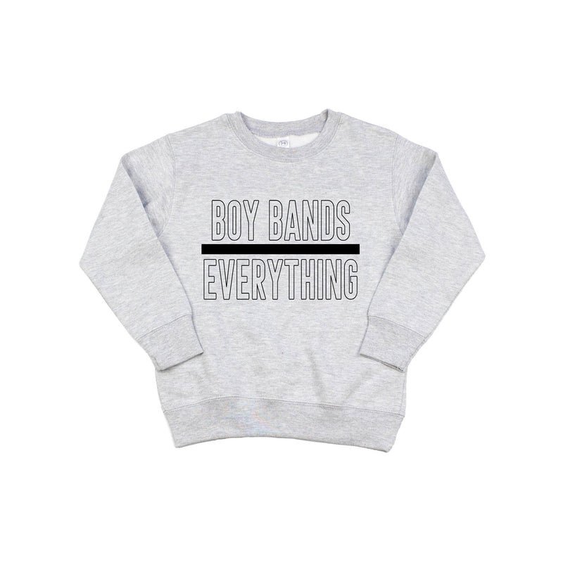 Boy Bands Over Everything - Pullover-Little Hooligans Co.
