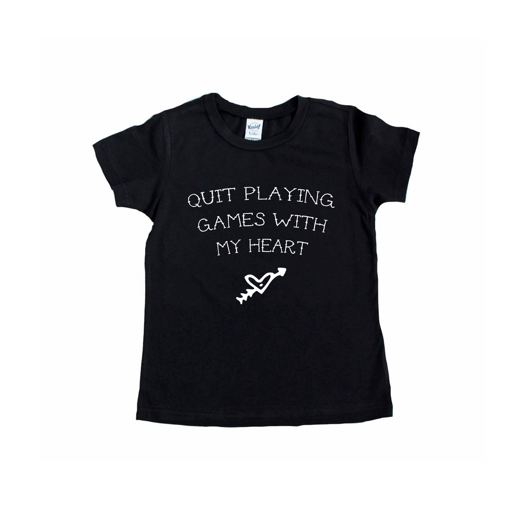 Quit Playing Games - Tee-Little Hooligans Co.