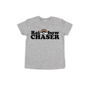 Rainbow Chaser - Kids Tee-Little Hooligans Co.