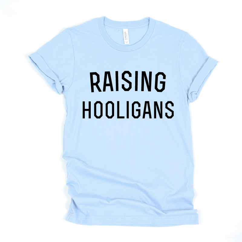 Raising Hooligans - Unisex Blue + Black-Little Hooligans Co.