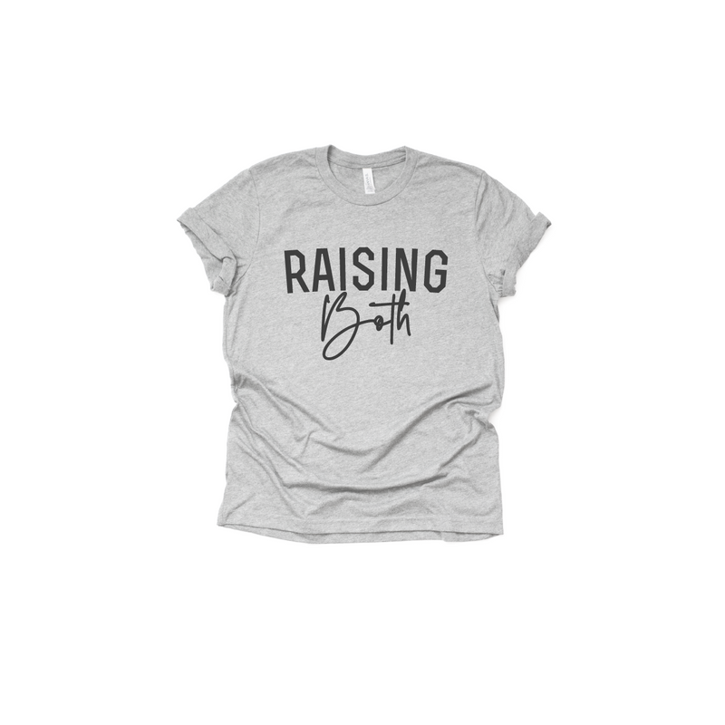 Raising Both - Unisex Tee-Little Hooligans Co.