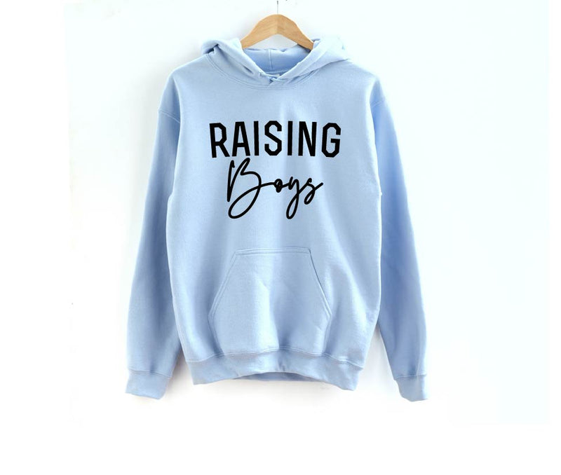 Raising Boys - Unisex Hoodie-Little Hooligans Co.