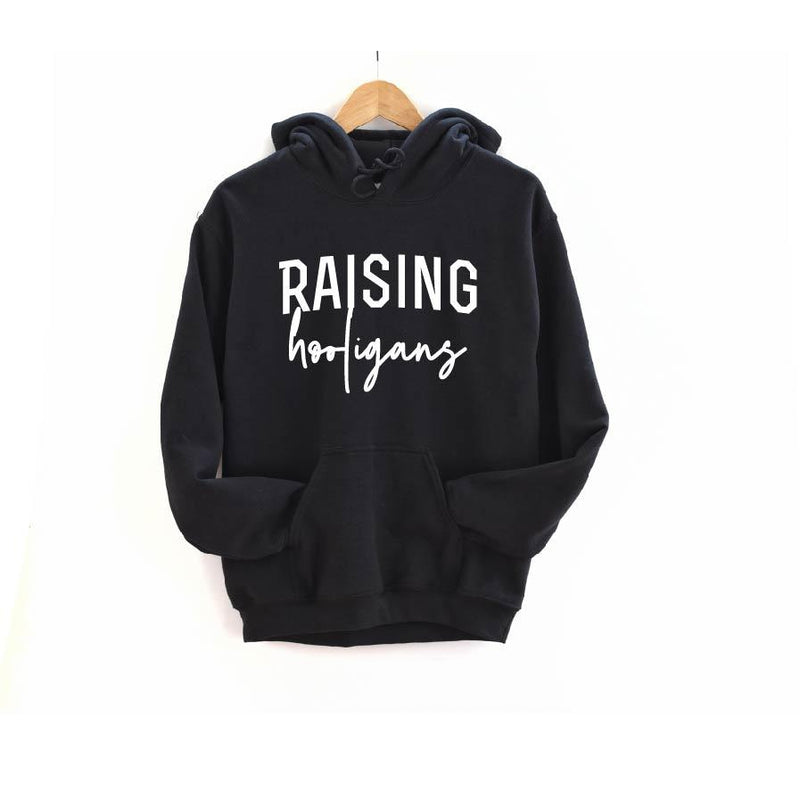 Raising Hooligans (script) - Unisex Hoodie-Little Hooligans Co.