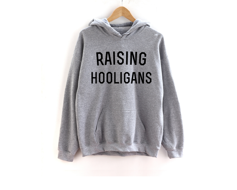 Raising Hooligans (varsity) - Unisex Hoodie-Little Hooligans Co.