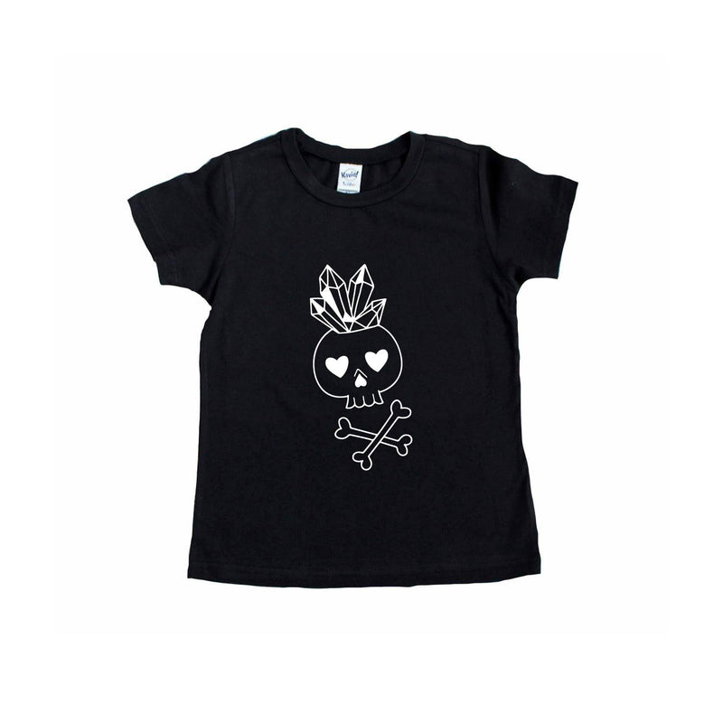Crystal Skelly - Kids Tee-Little Hooligans Co.