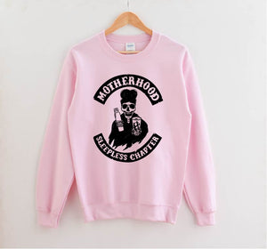 Sleepless Chapter - Unisex Pullover-Little Hooligans Co.