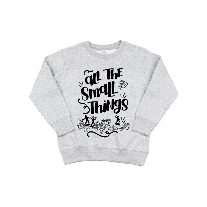 Small Things - Grey Pullover-Little Hooligans Co.