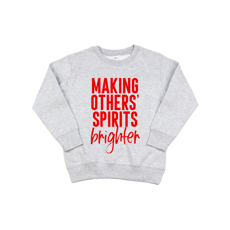 Making Others' Spirits Brighter - Kids Pullover - Little Hooligans Co.
