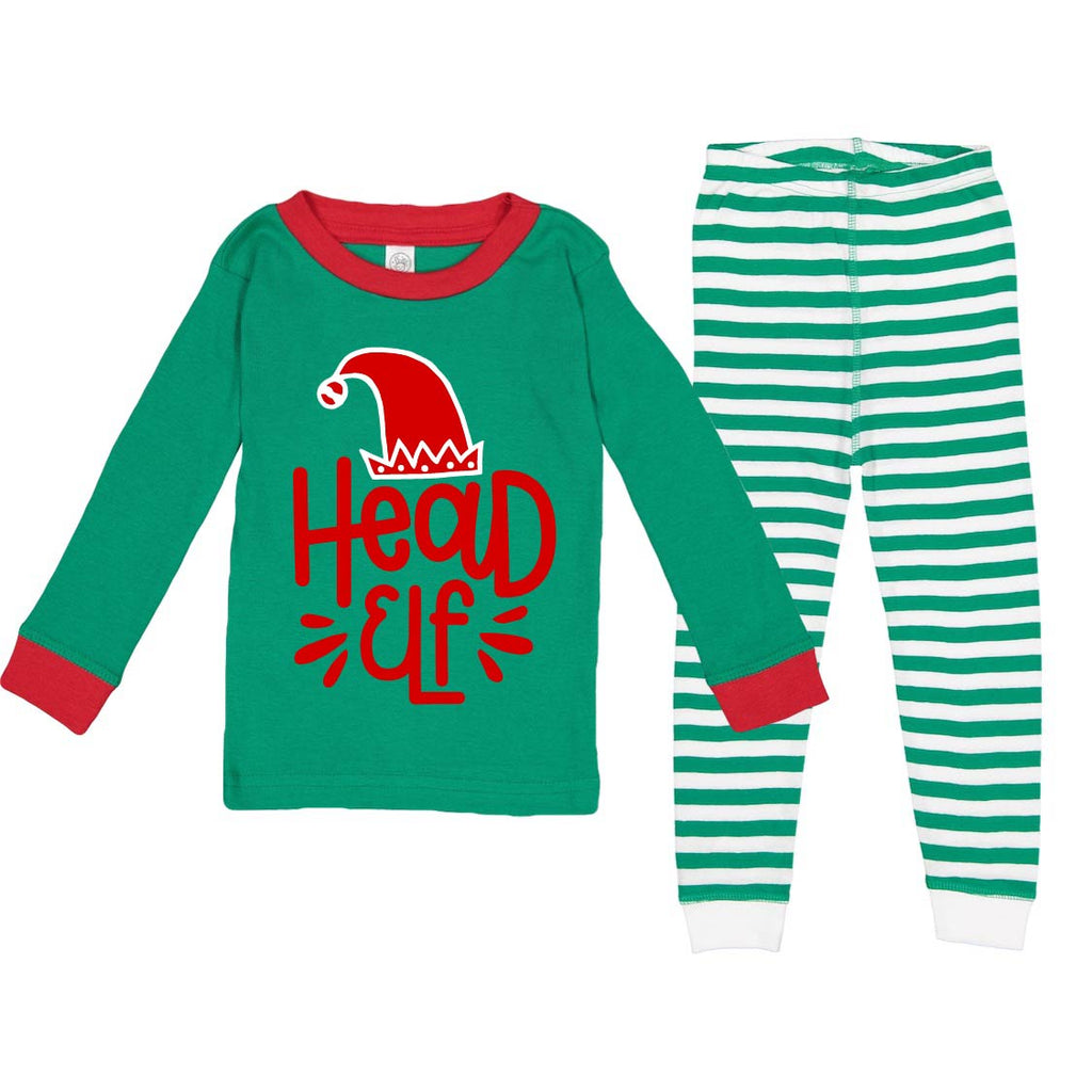 Head Elf - PJ Set-Little Hooligans Co.