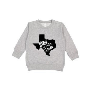 Texas - Kids STYR Pullover-Little Hooligans Co.