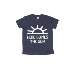 Here Comes The Sun - Kids Tee-Little Hooligans Co.