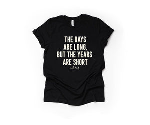 The Days Are Long - Unisex Crewneck Tee-Little Hooligans Co.