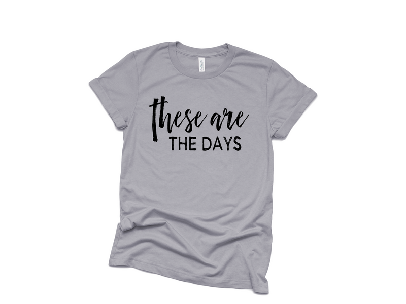 These Are The Days - Unisex Storm Tee-Little Hooligans Co.