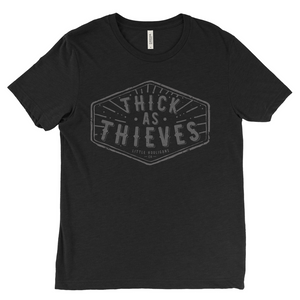 Thick As Thieves - Adults Tee-Little Hooligans Co.