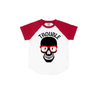 Trouble - Red Short Sleeve Raglan-Little Hooligans Co.