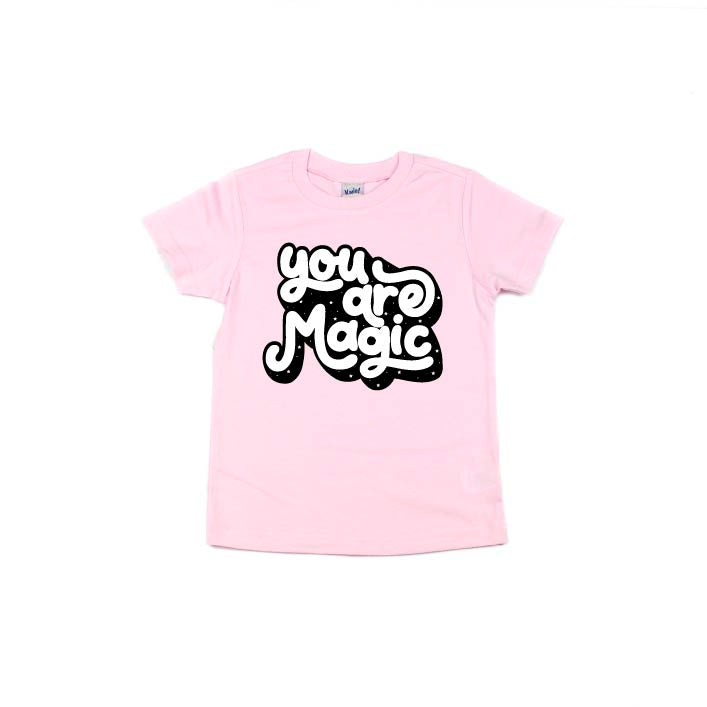 You Are Magic - Light Pink Tee-Little Hooligans Co.