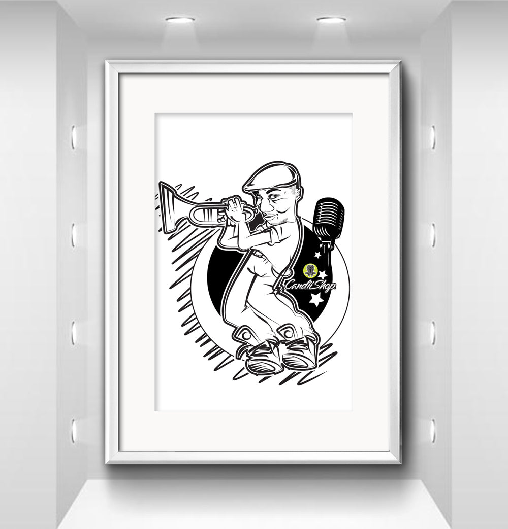 Custom Illustrations - Black & White