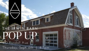 Fall Collection POP UP @ The Irwin Barn
