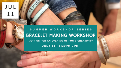 Bracelet Making Workshop