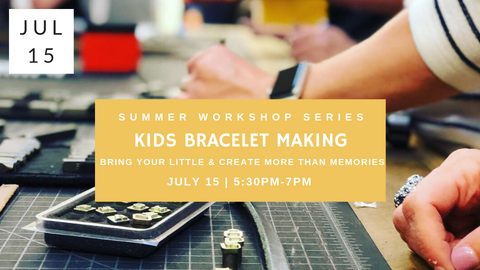 Kids Bracelet Making Workshop