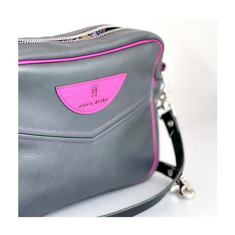 STUDIO | Belt | Brown + Silver Arrow Print