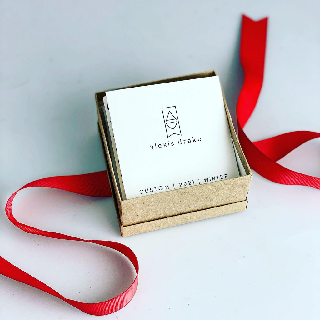 SHOWROOM | Alexis Drake Gift Card | Custom Box Experience