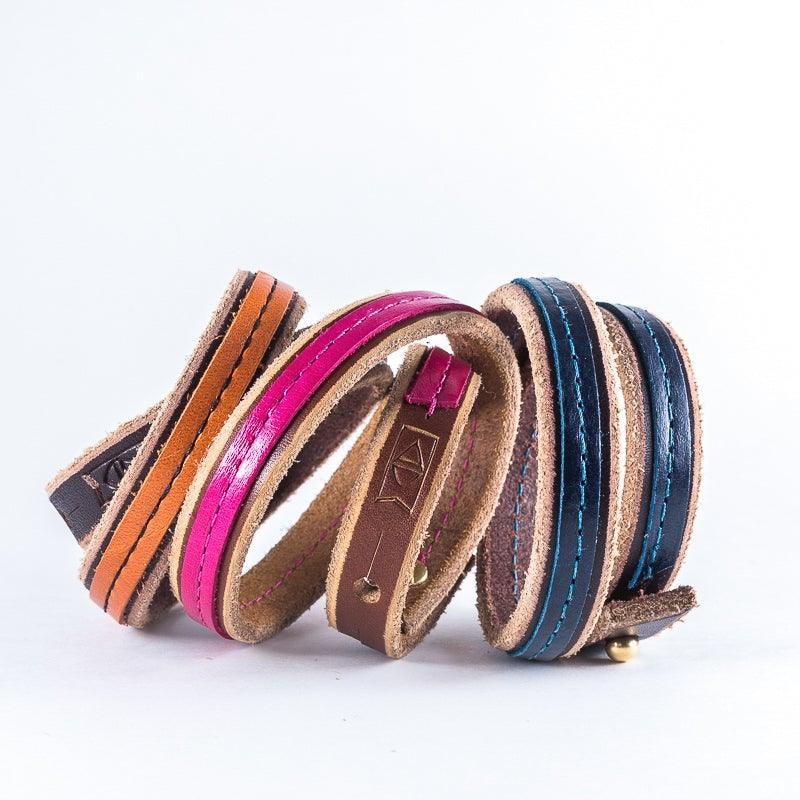 Custom | Leather Wrap Bracelets