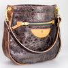 JANUARY COLLECTION | Drake Shoulder Handbag | Color Block Turquoise + Butter