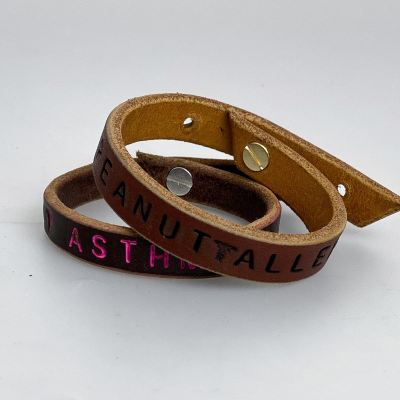 CUSTOM | Quote + Allergy Bracelets | Various