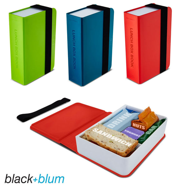 Black and Blum book lunch box