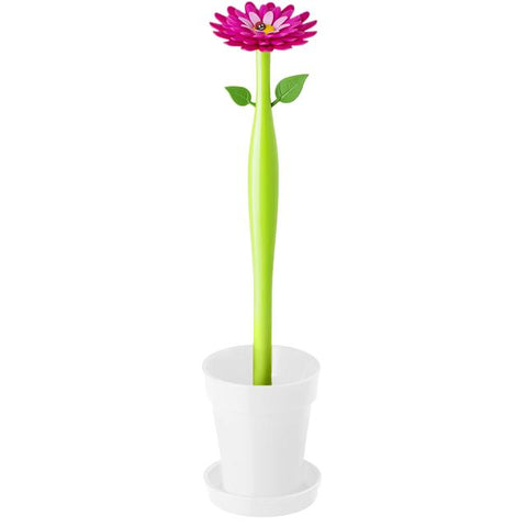 Vigar white Flower toilet brush