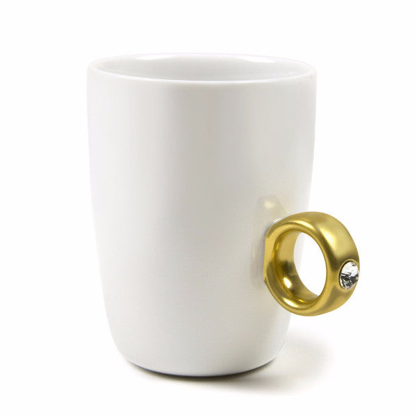 Fred and Friends 2-carat ring mug