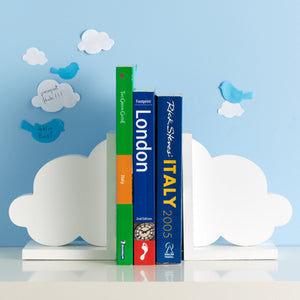 Design Ideas white cloud bookends