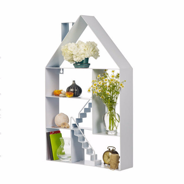 Design Ideas RowHouse shelf white
